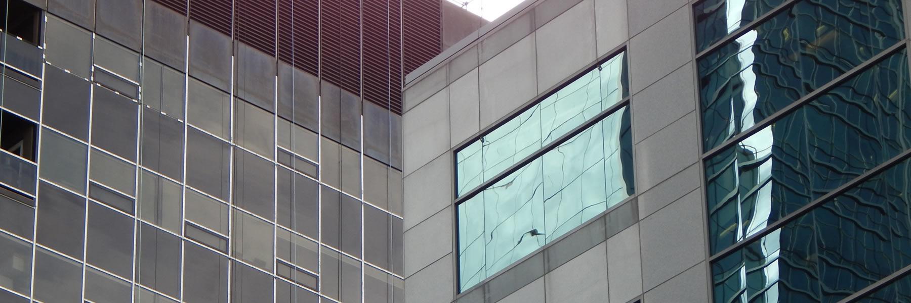 Putzen von Fenstern