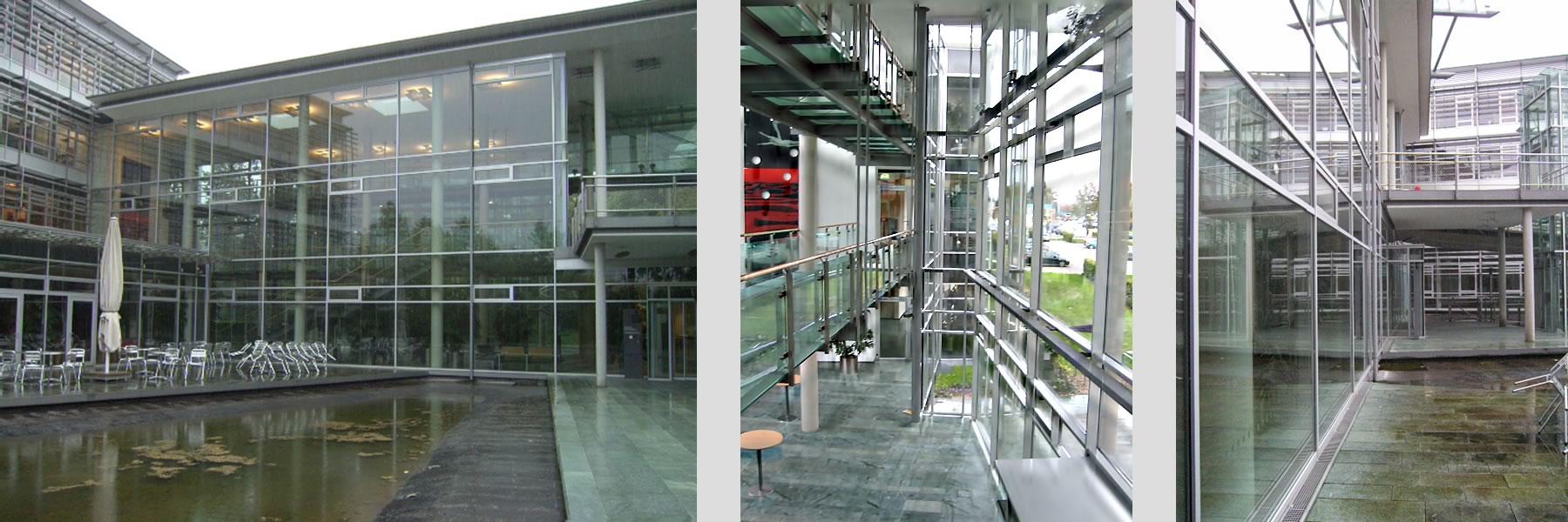 Peukert Reinigung von großen Glasflächen